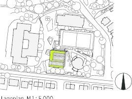 Lageplan, M 1: 5000