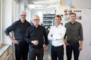MGF Architektenv.l. die Partner: Hartmut Fuchs, Armin Günster, Jan Kliebe und Josef Hämmerl www.mgf-architekten.de