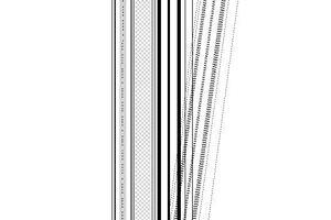 05 Kippfenster mit vorgesetzter Prallscheibe, Absorbermaterial und Luftöffnungen unten