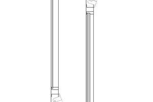 08 Einschaliges Akustikfenster mit Luftführung über das Profil; Beispiel Schüco AWS 90 AC.SI
