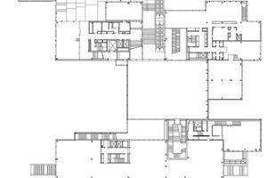 Grundriss 1. Obergeschoss, M 1:1500