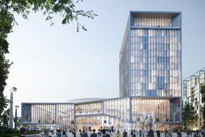 """Das Alte im Neuen: Entwurf für ein """"New Istropolis"""" in Bratislava"""