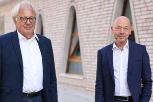 Prof. Alexander Rudolphi und Amandus Samsøe Sattler