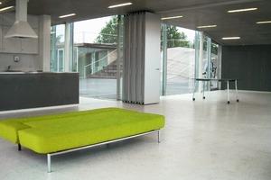 Die Außenanlage des Youth Houses ist für die Kinder zum Spielen gedacht<br />