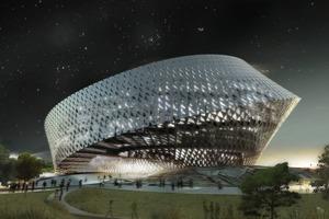 Nationalbibliothek in Astana, Kasachtan - eingeladener Wettbewerb: 1.Preis<br />