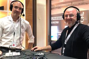 """DBZ, der Podcast: Im Gespräch mit Prof. Dr.-Ing. Daniel Pfanner und Rudi Scheuermann. Jetzt auf <span class=""""info_link"""">DBZ.de</span>"""