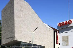 Kurz vor Fertigstellung: der Neubau des Sudetendeutschen Museum, München