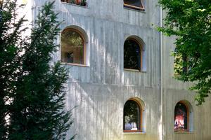 Leichtbetonhaus, ebenfalls mit Loggia