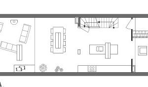 Grundriss Erdgeschoss, M 1:100