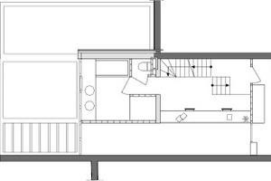 Grundriss 1. Obergeschoss, M 1:100