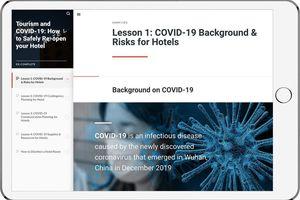 Ein E-Learning-Modul zur Schulung von MitarbeiterInnen gehört zum Angebot von COVID-READY