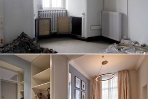 Ein Gästezimmer vor und nach dem Umbau