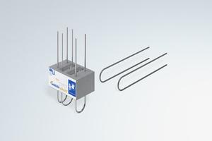 Schöck bietet für seine Produkte, wie hier für den Isokorb XT Typ A, bereits die λ<sub>eq</sub>-Werte nach EAD-Verfahren an. Architekten und Planer können diese für den vereinfachten Wärmebrücken-Nachweis nach Beiblatt 2 anwenden.