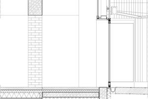 Fassadenschnitt M 1:50