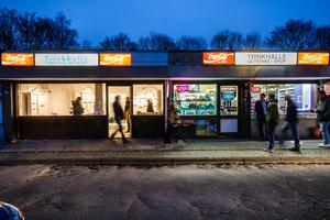 """Marie Enders (RWTH Aachen) regt in Ihrer Arbeit """"Third Place Trinkhalle"""" zu einer Diskussion über die Trinkhallenkultur im Ruhrgebiet an. Die Jury mochte den Ansatz, die Kioske im Ruhrgebiet als Teil des nationalen und kulturellen Erbes wahrzunehmen."""