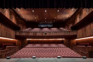 Der Hauptveranstaltungssaal beherbergt auch nach dem Umbau noch 600 Zuschauerplätze