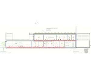 Energiekonzept: Das Gebäude erreicht als eines der ersten Gewerbegebäude überhaupt eine Energieplus-bilanz