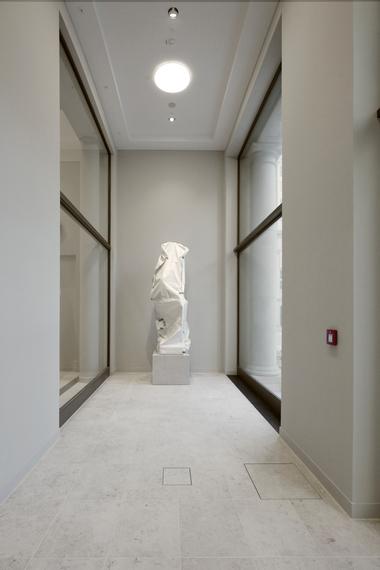 Schleusenraum Skulpturensaal/Schlüterhof