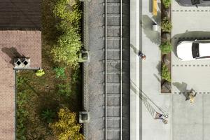 S-Bahn-Stationen liegen häufig abseits und sind als reine Umsteigeorte bis heute nicht zu Siedlungskernen geworden