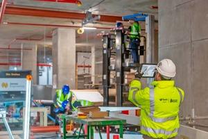 Arbeiten auf der digitalen Baustelle