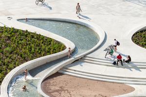 Urbane Landschaften ersetzen die Linearität der klassischen Straße – die neue V-Plaza in Kaunas/LT