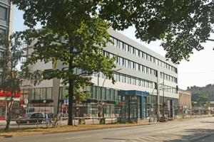 Umgebautes Kaufhaus in der Turmstraße in Berlin/Moabit