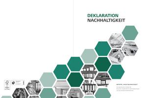 """Hin zum Normal: Die """"Deklaration Nachhaltigkeit"""" ist Kernbestandteil der Initiative """"Phase Nachhaltigkeit"""" der Deutschen Gesellschaft für Nachhaltiges Bauen und der Bundesarchitektenkammer. Zielsetzung der Initiative ist die Transformation der aktuellen Planungs- und Baukultur hin zum nachhaltigen Bauen als neuem Normal"""