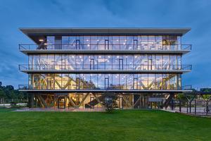 2016 entstand in Potsdam das Innovation Center von SAP, Potsdam IC 2.0: Räume für agiles und flexibles Arbeiten entstanden im Austausch mit Start-ups und Universitäten