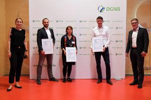 Mit dem EU-Förderprojekt RE4 haben ZRS Architekten Ingenieure mit Partner zusammen die DGNB Sustainability Challenge 2020 in der Kategorie Forschung gewonnen