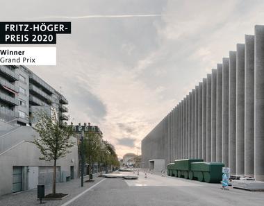 Musée cantonal des Beaux-Arts in Lausanne, Barozzi / Veiga, Winner Grand-Prix beim Fritz-Höger-Preis 2020 für Backstein-Architektur