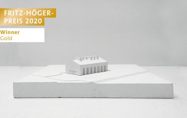 Fabrik für Baukeramik in der Oberhavel, Franziska Käuferle und Sina Pauline Riedlinger, Winner Gold Newcomer beim Fritz-Höger-Preis 2020 für Backstein-Architektur