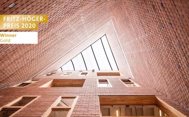 Civic Center 1015, HARQUITECTES, Winner Gold Öffentliche Bauten beim Fritz-Höger-Preis 2020 für Backstein-Architektur