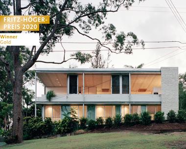 Couldrey House, Peter Besley Pty Ltd, Winner Gold Einfamilienhaus beim Fritz-Höger-Preis 2020 für Backstein-Architektur
