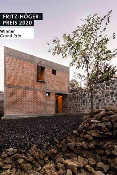 Nakasone House, Escobedo Soliz, Winner Grand-Prix beim Fritz-Höger-Preis 2020 für Backstein-Architektur