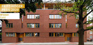 Wohnhaus Schiffahrter Damm, Reinhard Martin Architekt BDA, Winner Gold Sanierung beim Fritz-Höger-Preis 2020 für Backstein-Architektur