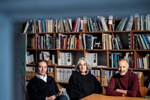 DBZ Heftpartner (04|2020) und Gewinner des deutschen Architekturpreises 2019:  Piero Bruno, Donatella Fioretti und José Gutierrez Marquez, BFM Architekten, Berlin