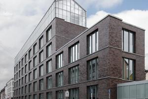 """Finalist DAM Preis für Architektur 2021: """"Verwaltungsgebäude mit gebäudeintegriertem Dachgewächshaus"""", Oberhausen, von KUEHN MALVEZZI, Berlin"""