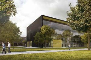 Raumbuch-Pilotprojekt: der Neubau des Fraunhofer-Instituts in Garching (HENN)