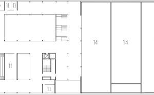 Grundriss 1. Obergeschoss, M 1:1250