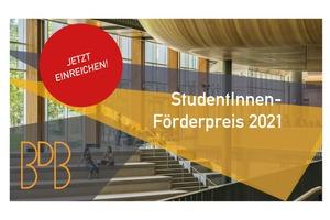 Teilnahmeberechtigt sind alle Studierenden der Fachrichtungen Architektur und Bauingenieurwesen sowie BerufsanfängerInnen bis zwei Jahre nach Studienabschluss