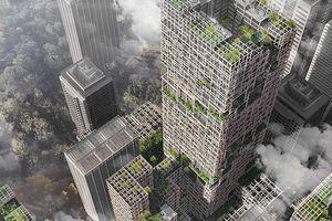 Das höchste Holzhaus der Welt steht 2041 in Tokio