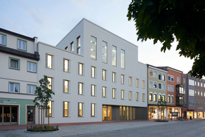 Siegerbeitrag Deutscher Ziegelpreis 2021: Rathaus der Stadt Dorfern von Diezinger Architekten
