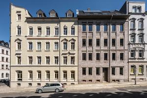 """Sonderpreis """"Bauen im Bestand"""" Deutscher Ziegelpreis 2021: Casa Rossa in Chemnitz von bodensteiner fest Architekten"""