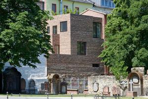Siegerbeitrag Deutscher Ziegelpreis 2021: Stylepark Neubau am Peterskirchof Frankfurt a.M. von NKBAK