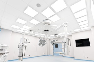 Risikozone 4: Operationssäle, Reinräume (hier OP-Saal)