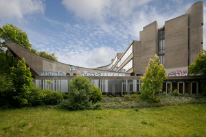 """<irspacing style=""""letter-spacing: 0em;"""">Jetzt denkmalgeschützt: das Institut für Hygiene und Umweltmedizin, Berlin (Nordansicht, Garten)</irspacing>"""
