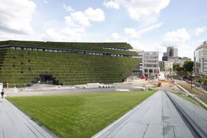 Hieran grüne Projekte anbinden: Der Kö-Bogen II in Düsseldorf als Inkubator für eine grünere Stadt?!