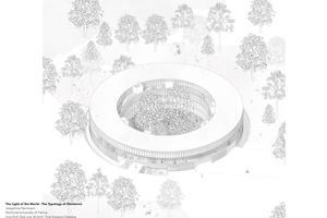 Der Entwurf von Josephine Hermann, TU Wien: The Light of the World - The Typology of Obstetrics