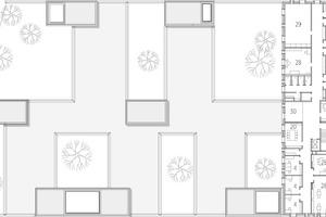 Grundriss; 1. Obergeschoss, M 1:750