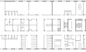 Grundriss Neubau Erdgeschoss, M 1:1000
